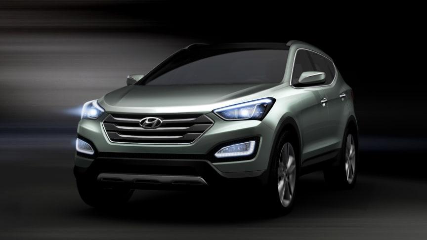 Hyundai viser ny Santa Fe