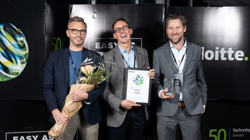 Sweden Technology Fast 50, Strossle plats två