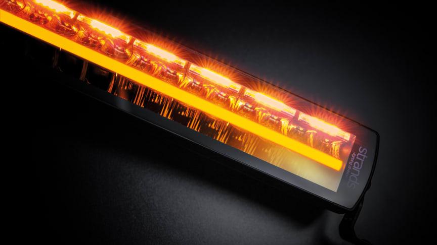 Unik LED-lampa – världsnyhet för ökad vägsäkerhet