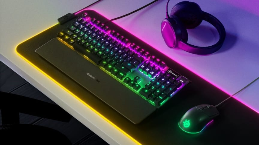 SteelSeries goes after boring office peripherals with new line of high-performance gaming gear accessible for any gamer
