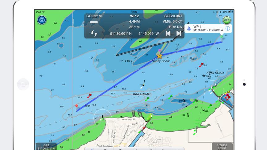 Digital Yacht launch US marine navigation app for iPad called NavLink US