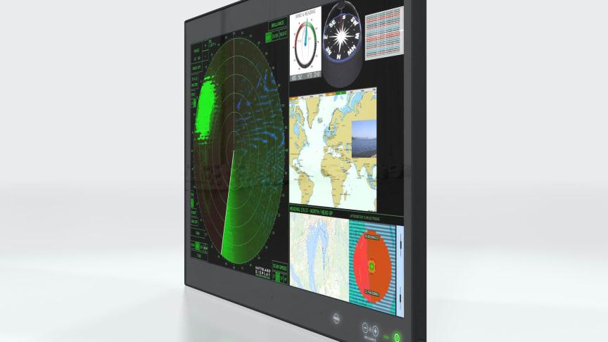 "Hatteland Display releases new 4k resolution, 32"" Series X Multi Vision Display"