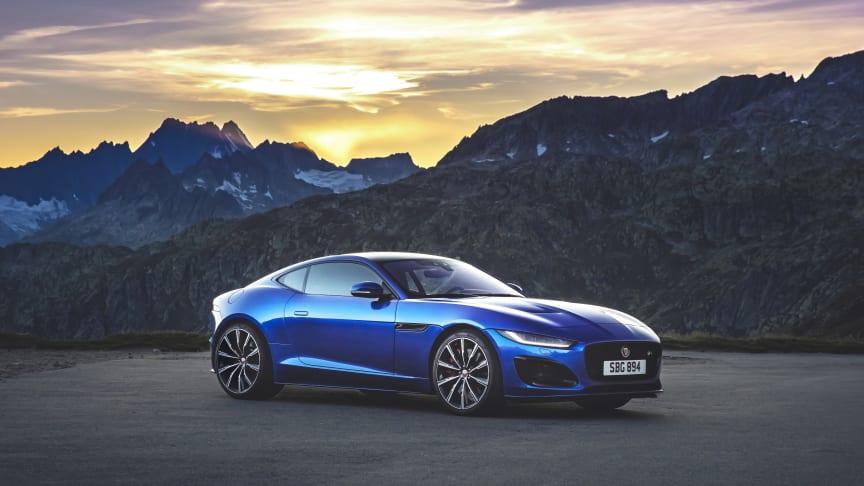 Ny Jaguar F-TYPE ser dagens lys