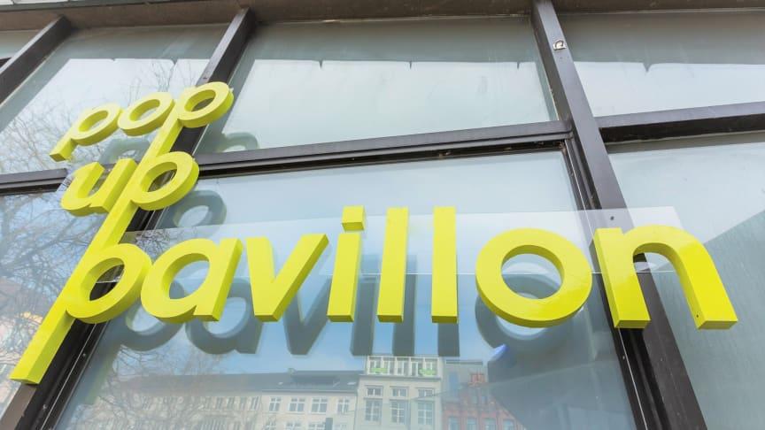 Pop Up Pavilllon präsentiert Kunst und Kultur im Herzen der Kieler Altstadt am Alten Markt