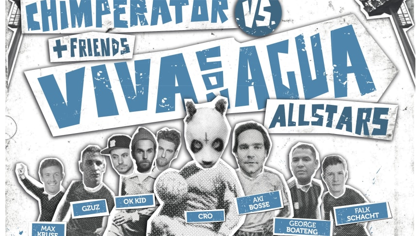 Viva con Agua Allstars Benefizkick mit Cro, Christian Tiffert, Max Kruse, Bosse u.v.m.