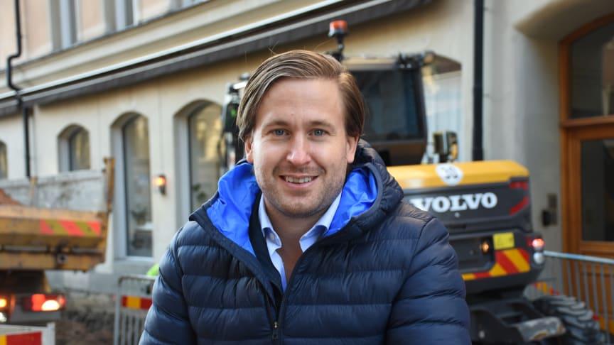 Claes Arenander, biträdande förhandlingschef Maskinentreprenörerna.