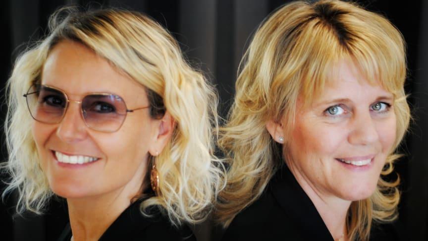 Anette Chahdoura och Maria Liss har tagit över KlarSynt-anslutna Blickfånget i i Kungsängen, norr om Stockholm.