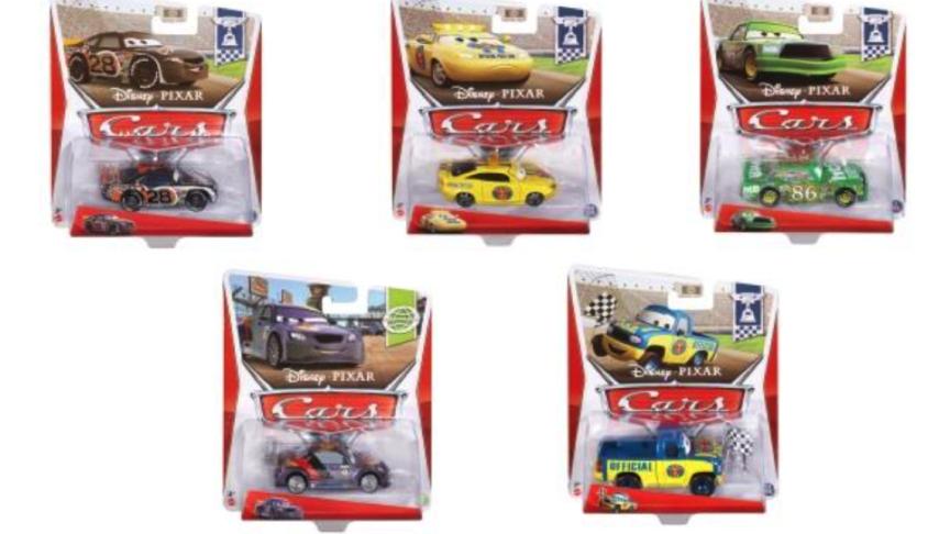 Disney Cars Die-Cast Character Fahrzeug Sortiment