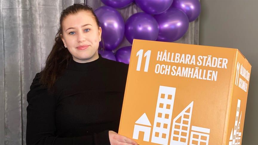 Sarah Olofsson, kommunikatör och eventarrangör BizMaker