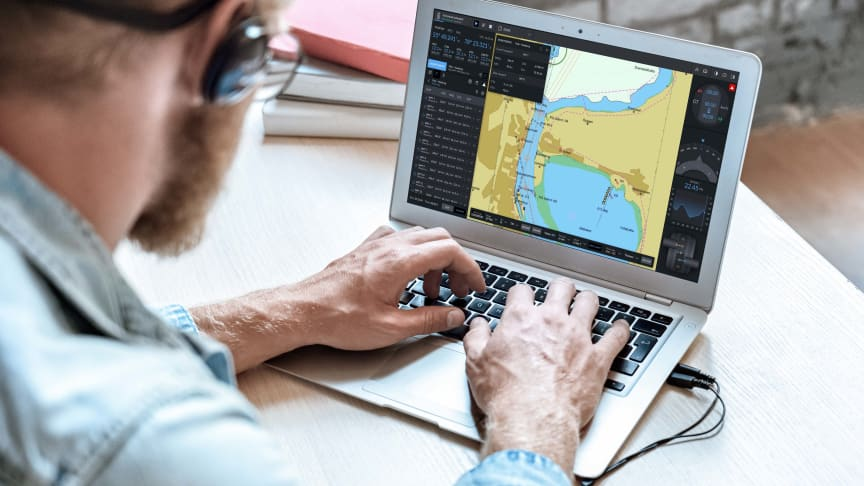 Kongsberg Digital's K-Sim ECDIS solution allows students to engage in IMO/STCW compliant training, anytime and anywhere