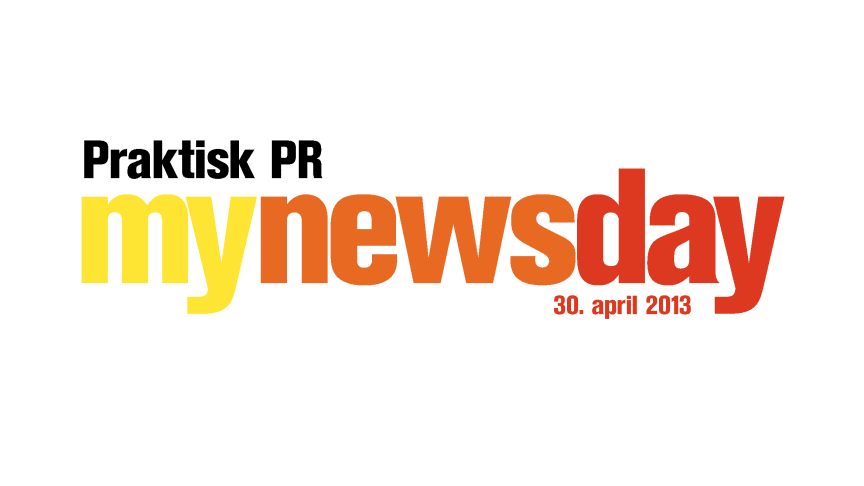 Mynewsday 30. april - Praktisk PR