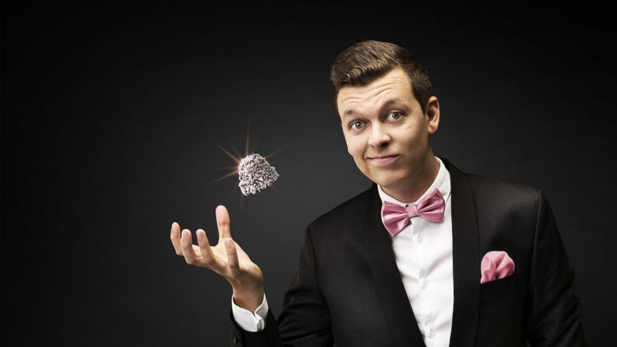 Magikern Douglas Nordenbelt känd från Talang 2018