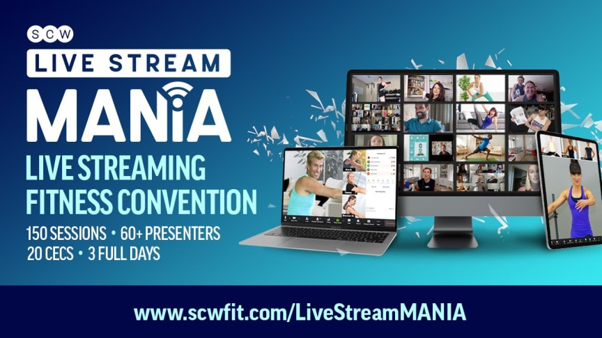 Motosumo sponsors the world's largest fitness-education convention, SCW Live Stream MANIA®