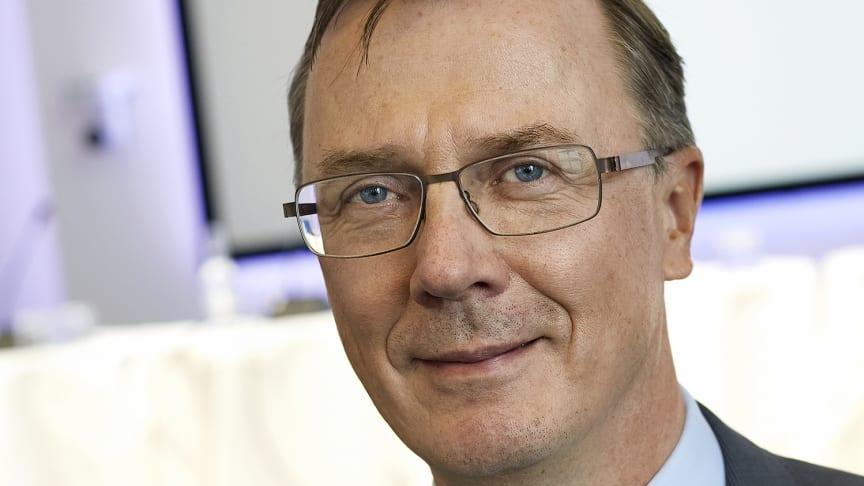 Jukka Pertola er valgt som tiltrædende præsident for ATV. Han overtager præsidentposten om et år.