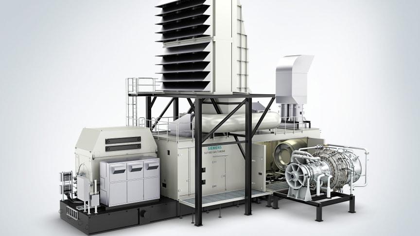 Siemens gasturbin SGT-800 i så kallat single lift-utförande har gasturbin, växel och mekaniska kringsystem färdigmonterade på en och samma bottenram för att spara utrymme och installationstid hos kund.