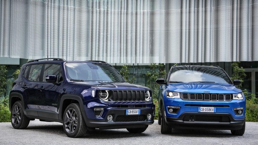 Jeep Renegade 4xe og Compass 4xe