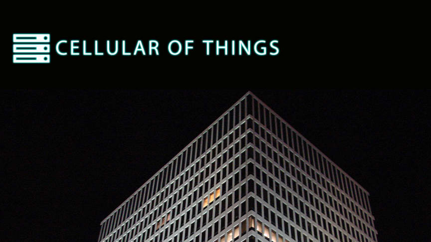 Cellular of Things