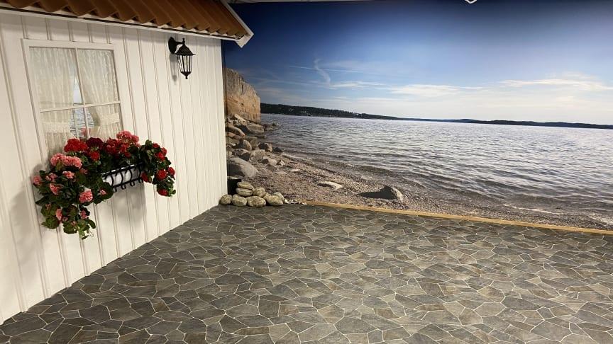 Sol, hav och svensk sommar i ett solrum ska aktivera alla sinnen för personer med funktionsvariationer i Karlstad