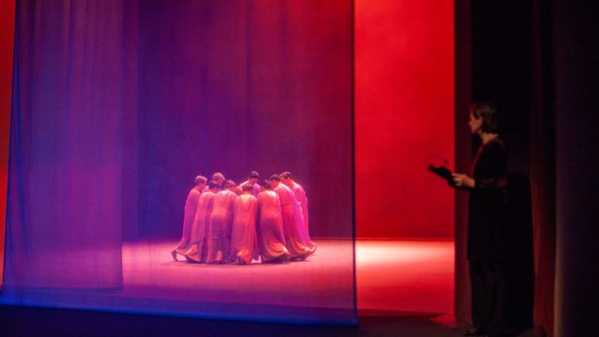 Premiere des ersten Programms des neuen Goetheanum-Eurythmie-Ensembles (Foto: Katrin Oesteroth)