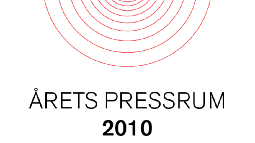 Vinnarna i Årets Pressrum 2010