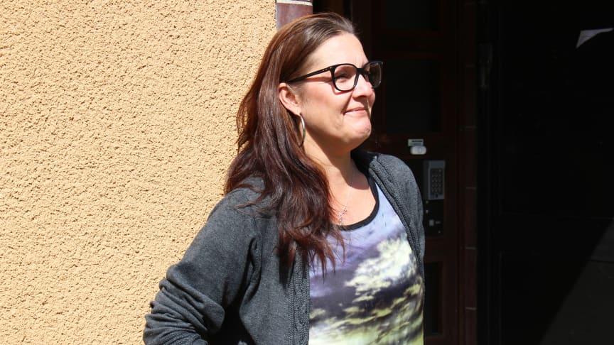 Linda Hallin, samordnare på Blixtjobb