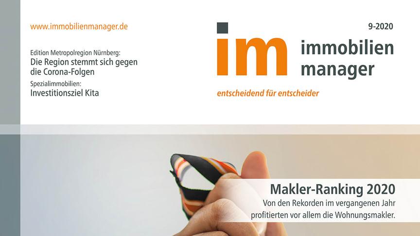 immobilienmanager Makler-Ranking 2020: Rekordjahr – aber nicht für alle