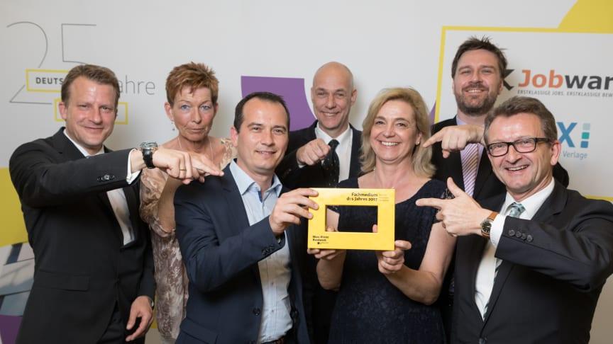 Der Verein Deutsche Fachpresse hat jetzt das Deutsche Handwerksblatt ausgezeichnet.    Foto: Fernando Baptista
