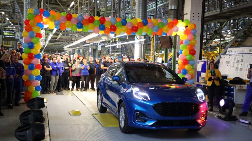 Ford starter produktionen af den helt nye Ford Puma