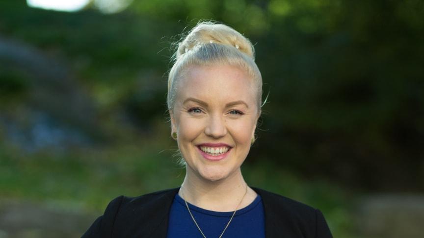 Alexandra Davidsson, alumn på Programmet för Internationell Politik och Ekonomi (IPPE).