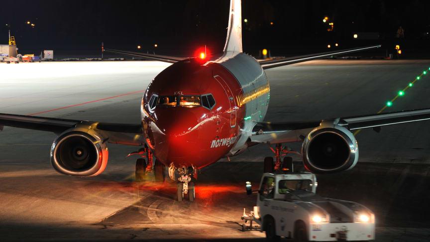 Norwegian Norges punktligste selskap i 2012 –  fløy 17,7 millioner passasjerer på årsbasis