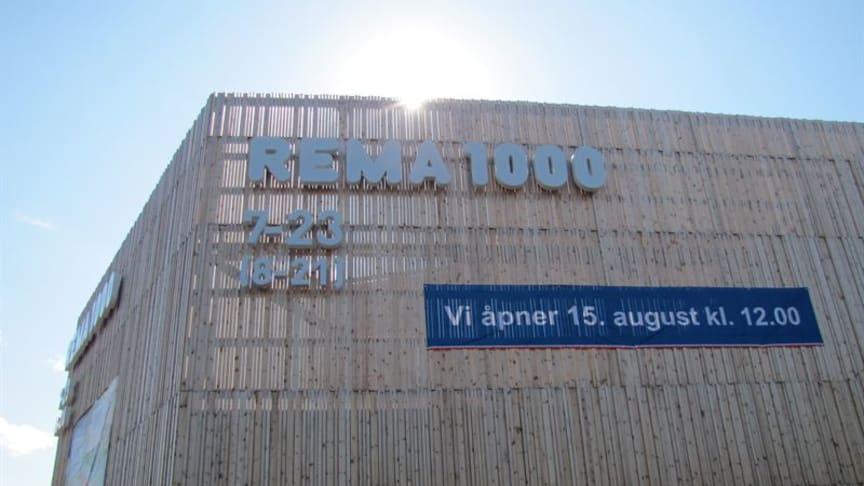 Energieffektiv Rema 1000-butikk