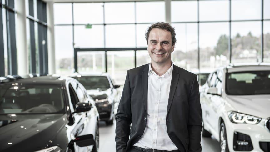 CEO Stig Sæveland i Hedin Automotive gleder seg over oppkjøpet