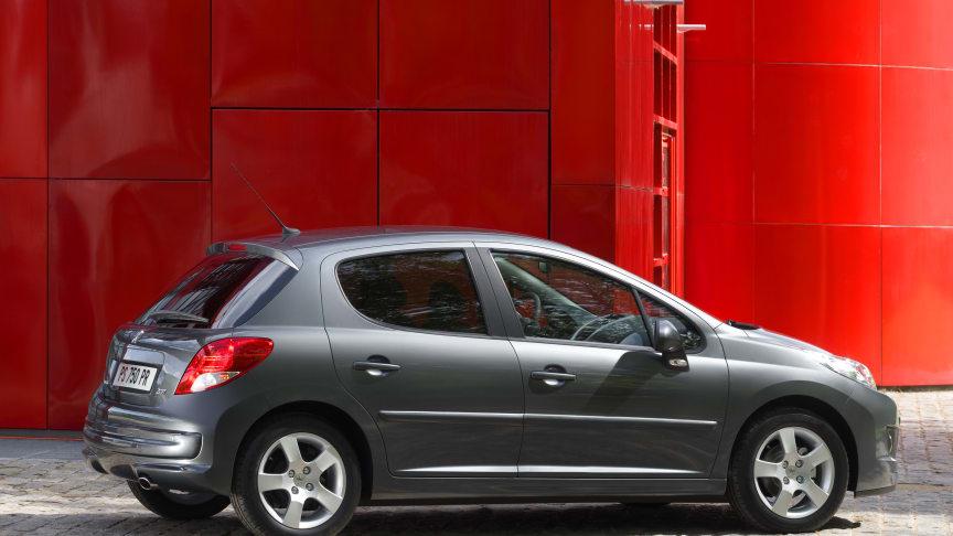Peugeot 207 får nya snålmotorer och ännu mer standardutrustning