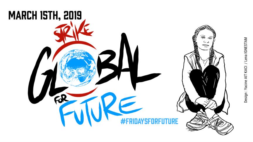 Global Strike For Future 15 mars växer snabbt - nu i minst 1325 städer i 98 länder