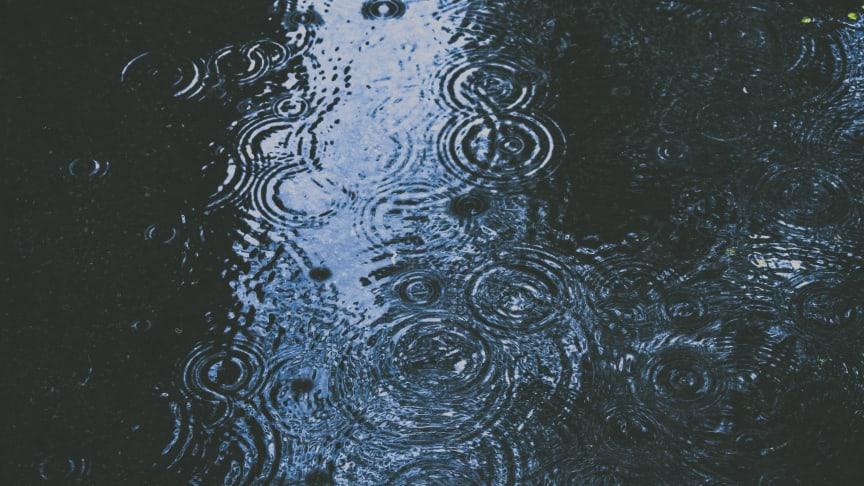 Det finns risk för översvämningar när det regnat mycket och länge.