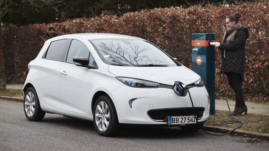 Få to års gratis strøm med Renault og CLEVER