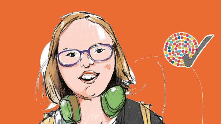 Natalie Dedreux - Aktivistin und Expertin mit und für Down-Syndrom / Fotocredits: Aktion Mensch e.V.