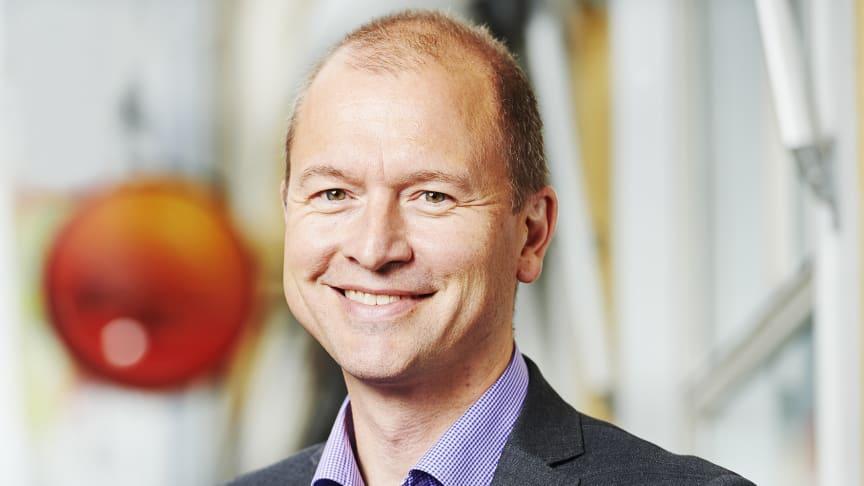 Gunnar Eikeland, vd Sparbanken Nord, är glad över årets SKI-undersökning som ger Sparbankerna första plats.