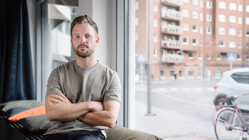 Jesper Karlsson, miljösamordnare på Liljewall.