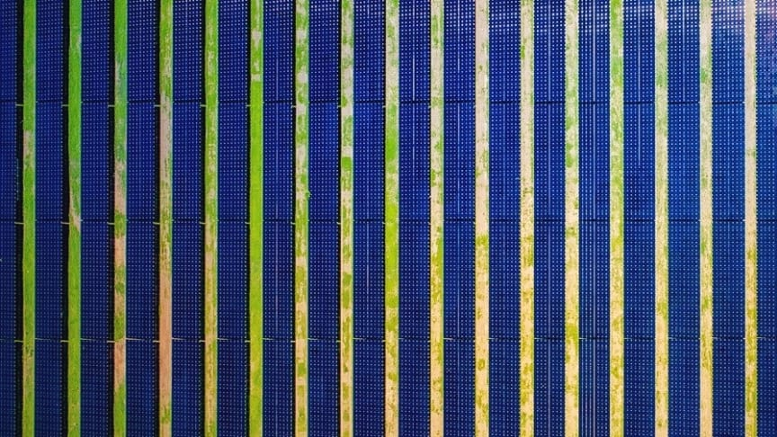 Over 1 million thin-film photovoltaic modules are being installed at the Sun Metals solar plant in Queensland, Australia. (Photo by Sun Metals Solar Plant)
