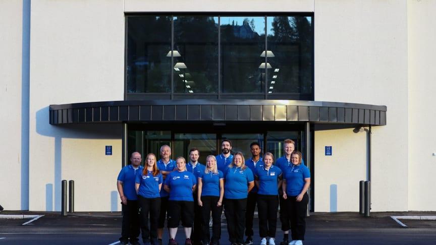 Team Steinkjer gleder seg til åpning av nytt Biltemavarehus i Steinkjer