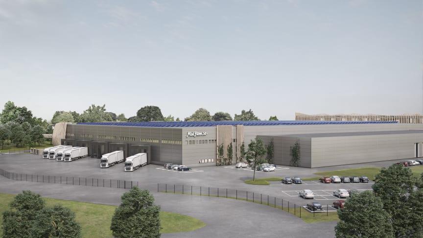 Mathem investerar i automationslösning från SSI Schäfer till nya logistikanläggningen i Larsboda