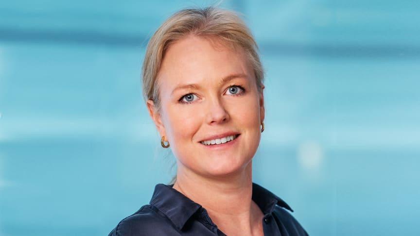 Helena Elfstadius, ny projektutvecklingschef på Slättö