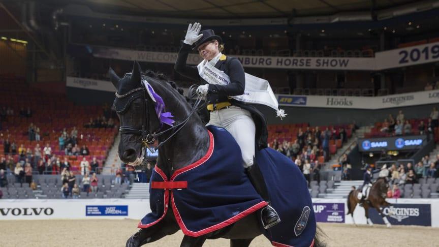 Isabell Werth won the FEI World Cup Grand Prix. Photo: Lotta Gyllensten