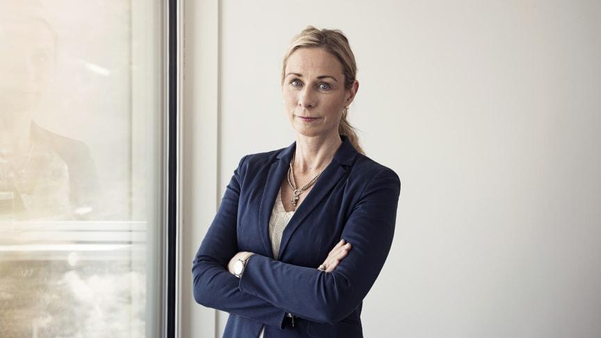 Pernilla Bonde, vd HSB Riksförbund.