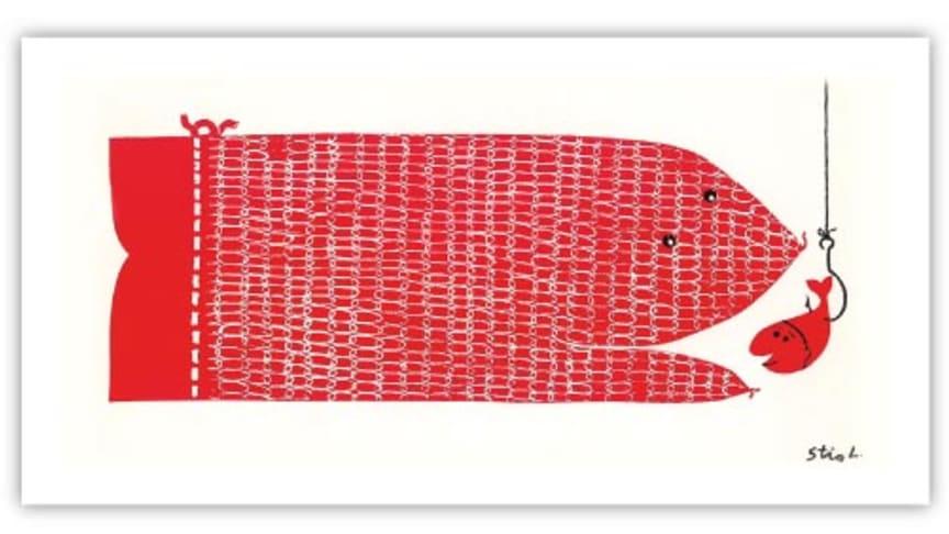 Nyhet i museibutiken: Konstkort av Stig Lindberg