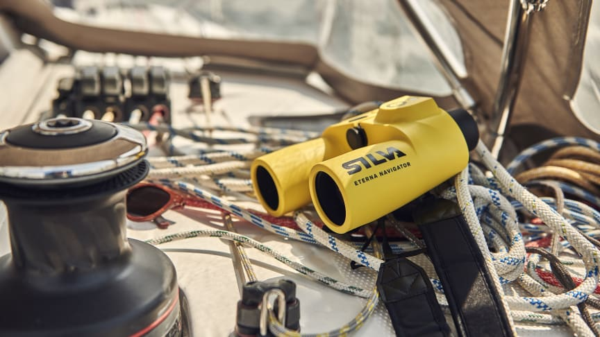 Eterna Navigator - ny kikare från SILVA med inbyggd kompass