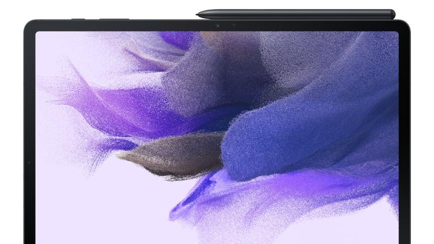 Nyaste medlemmarna i Samsung Galaxy Tab-familjen:  Galaxy Tab S7 FE och Galaxy Tab A7 Lite