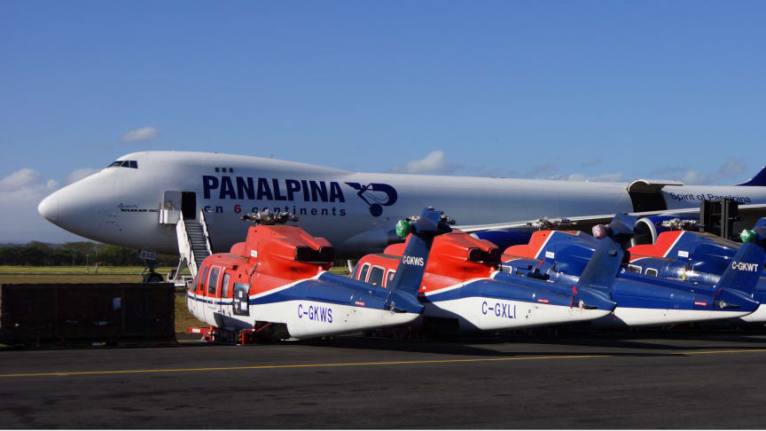 Panalpina Heliship celebrates 25 years of service and announces a new head