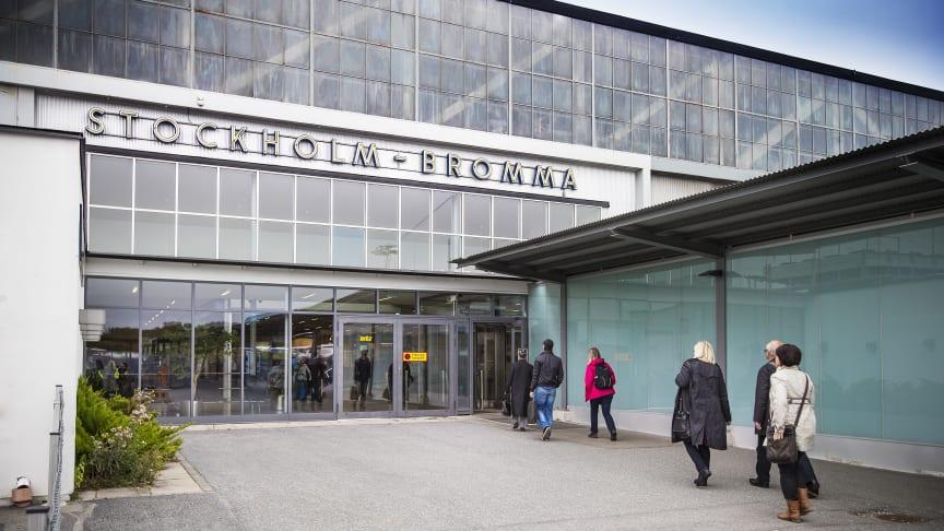 Nytt resenärsrekord på Bromma Stockholm Airport